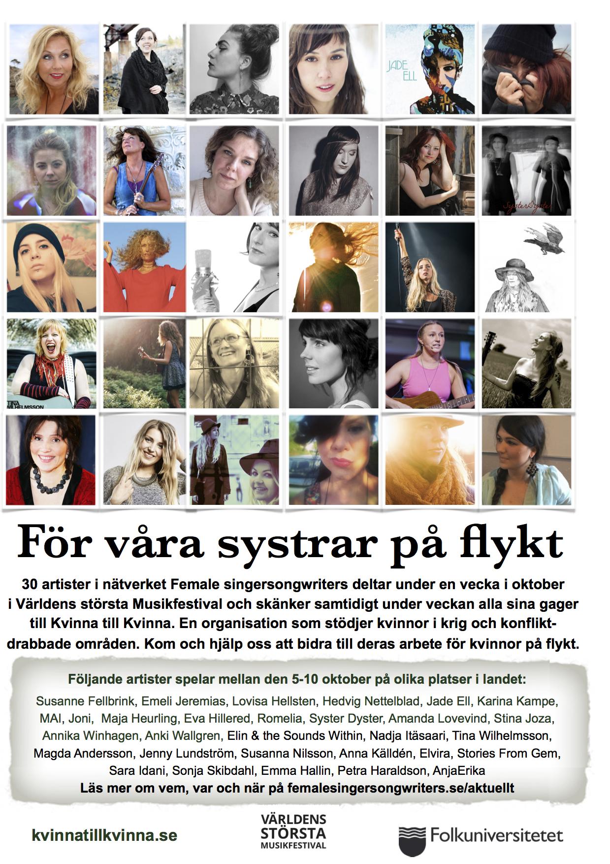 Affisch alla
