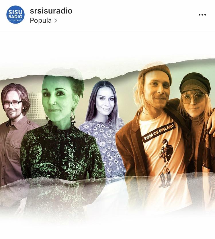 Simon Zion river av en finsk cover inför avfärd till L.A. och Sonja kompletterar musiken med cirkuskonster